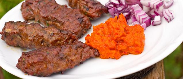 Croatia cevapcici and ajvar recipe recipe croatian kebabs grand croatia cevapcici and ajvar recipe recipe croatian kebabs grand circle travel forumfinder Image collections