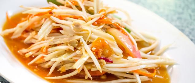 Cambodian cuisine recipe green papaya salad overseas adventure recipe green papaya salad forumfinder Choice Image