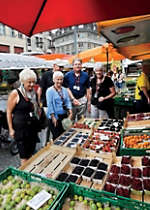 Discover fresh produce at a Strasbourg market