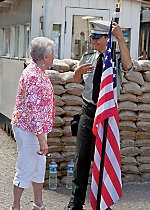 See Checkpoint Charlie while exploring Berlin
