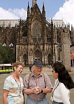 Explore the streets of Cologne