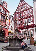 Encounter relaxing German outdoor cafes in Berkastel