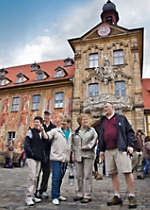 Explore Old Town Hall in the city of Bamberg Germany