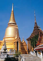 See the Temple of the Emerald Buddha in Bangkok