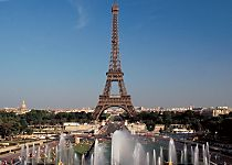 View the Eiffel Tower while touring Paris