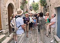 Explore the charming town of Viviers during a walking tour