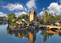 Encounter beautiful views of Strasbourg