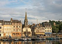Explore the French port town of Honfleur