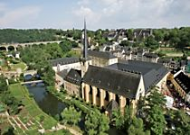 See a German church while touring Luxembourg