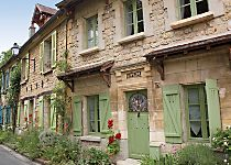Explore the street in Auvers sur Oise where Vincent Van Gogh lived