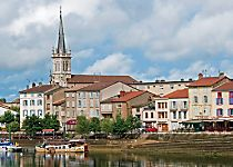 View Macon while cruising the Saone River
