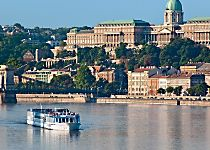 View Budapest from aboard the MS Adagio