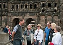Explore Trier's main plaza