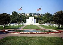 View the Rhone American Cemetery near Draguignan