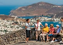 Discover local Greek dishes while cruising the Aegean Sea