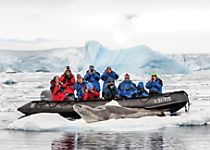 Explore the South Shetlands on zodiac expeditions