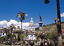 Discover the colonial splendor of Quito during a guided tour
