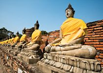 Explore the UNESCO World Heritage Site Ayutthaya and Ancient Siam