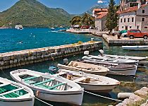 View the Venetian Baroque architecture of Kotor