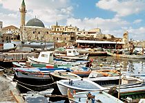 Explore the ancient walled city of Akko