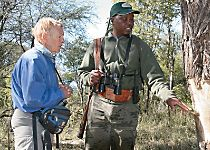 Encounter knowledgeable safari guides in Zimbabwe's Hwange National Park