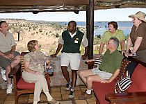 Encounter knowledgeable guides while on safari in Botswana