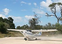 See Botswana's Okavango Delta by airplane