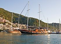 Explore Turkey aboard a traditional gulet style yacht