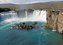 Explore Godafoss Waterfall and Lake Myvatn