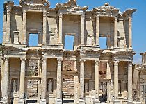 Discover the ruins at Ephesus while touring Turkey
