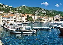 Discover the island of Hvar while cruising the Adriatic Sea