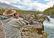Explore Petrohu Falls within Vicente Perez Rosales National Park
