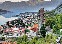 Explore Kotor Bay by ship and discover Montenegro during a walking tour