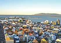 Explore the ocean side city of Reykjavik