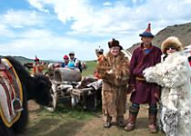 Encounter reindeer and yak herding families on the Mongolian steppe