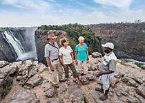 View Zimbabwe's Victoria Falls