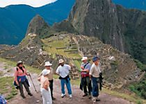 Explore Machu Picchu on a guided tour