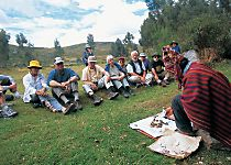 Encounter a curandero ceremony during a tour of Peru