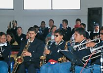 See a musical performance by the Sinamune Disabled Children's Orchestra in Quito