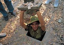 See the Cu Chi Tunnels used in the Vietnam War