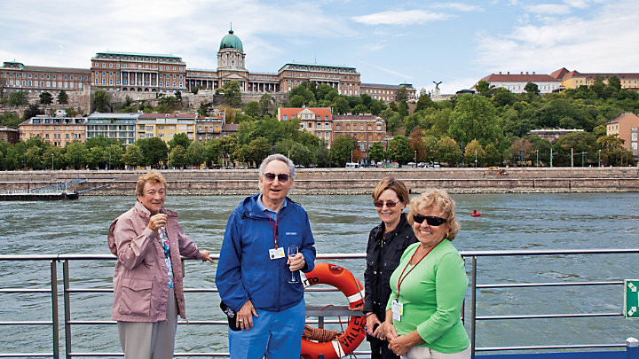 Discover new friendships during a river cruise along the Danube
