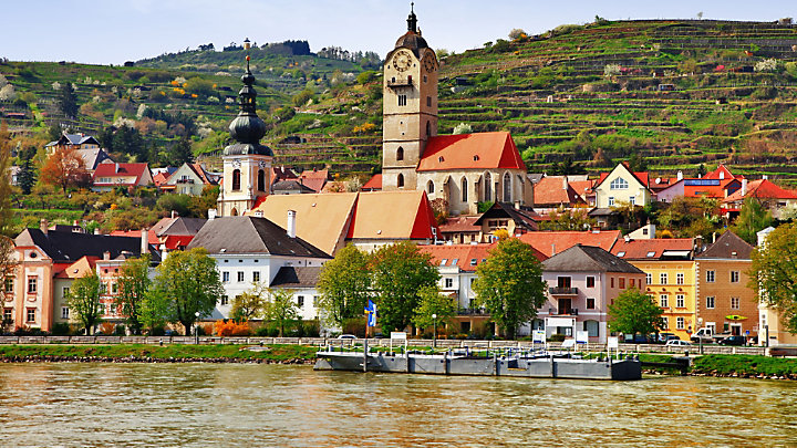 View Melk Abbey while touring Austria