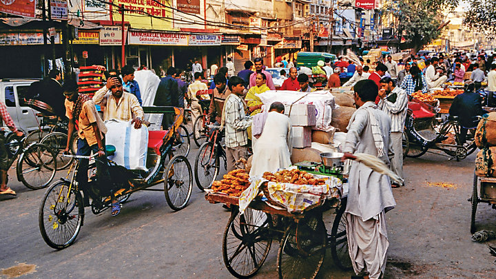 Explore Delhi on a rickshaw ride
