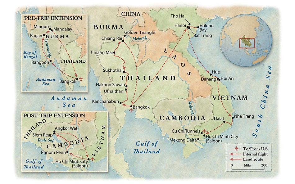 93abeddcd From Siam to Saigon: Thailand & Vietnam Revealed